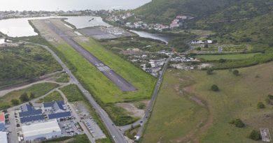 aéroport Espérance à Grand Case : Saint Martin