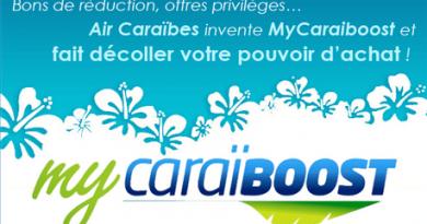 My Caraiboost : offre privilège Air Caraibes