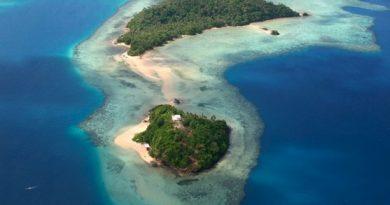 Wallis et Futuna :vue aérienne