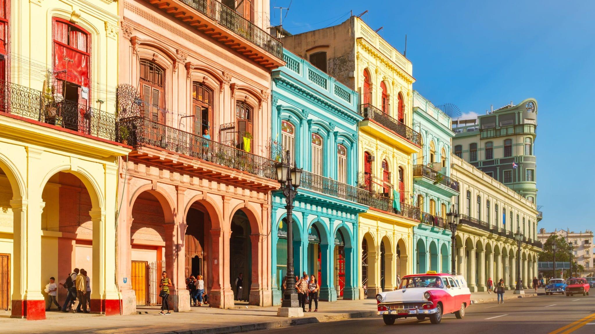 Cuba : la Havanne architecture et voiture ancienne