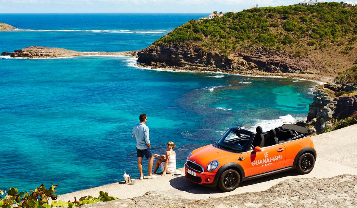 Paysage Caraibes : Guadeloupe îles des Antilles françaises