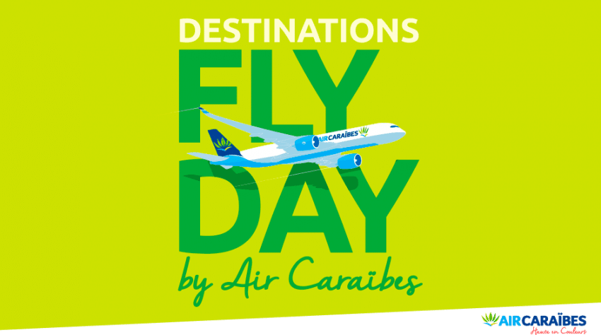 Black Friday Air Caraïbes Fly Day : promo billet d'avion pas cher Guadeloupe , Martinique, Guyane, Cuba, Punta Cana au départ de Paris Orly 4.