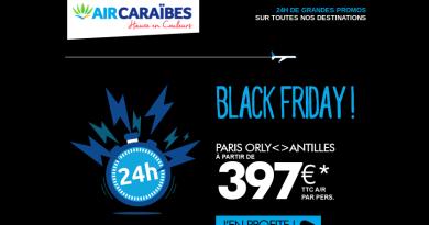 Black Friday Air Caraibes