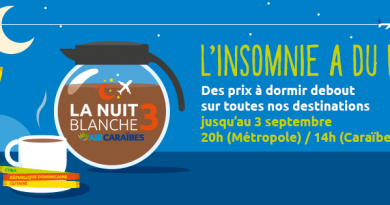 Nuit blanche Air Caraïbes: promo voyage