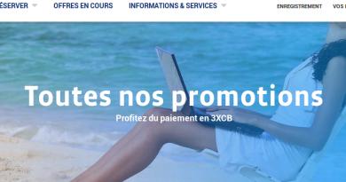 Promo Corsair : billet d'avion Antilles et Réunion