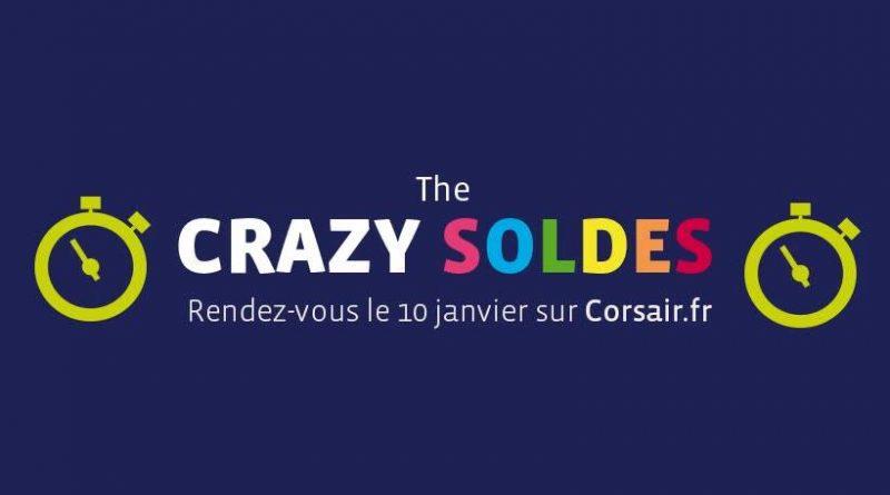 Crazy Soldes Corsair : promo billets d'avion pas cher Guadeloupe, Martinique, Réunion, Afrique