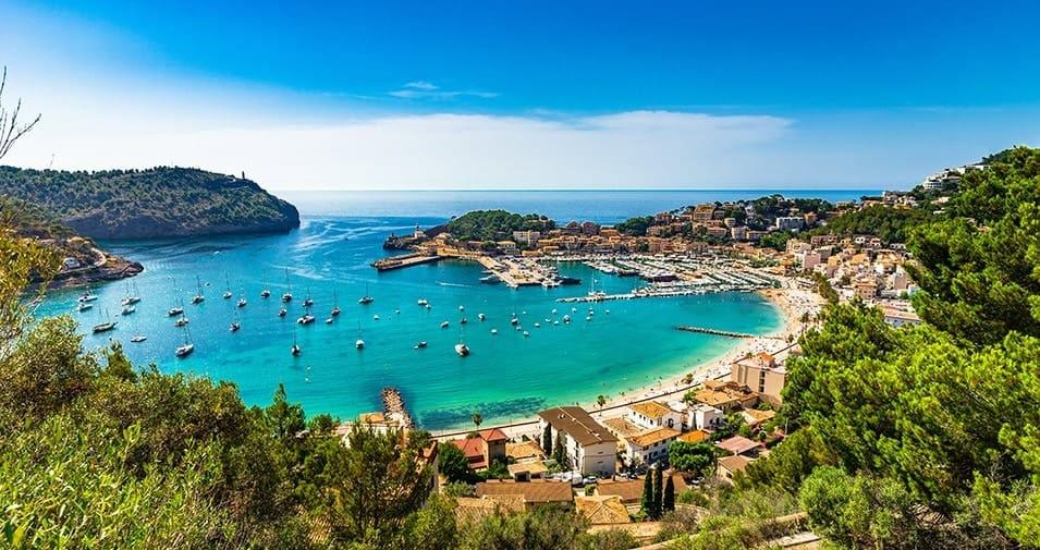 Paysage Majorque, plage : archipel des Baléares