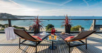 Terrasse Agapa Hotel Spa Nuxe en Bretagne: séjour Spa