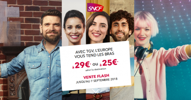 Vente Flash Sncf : promo pour des