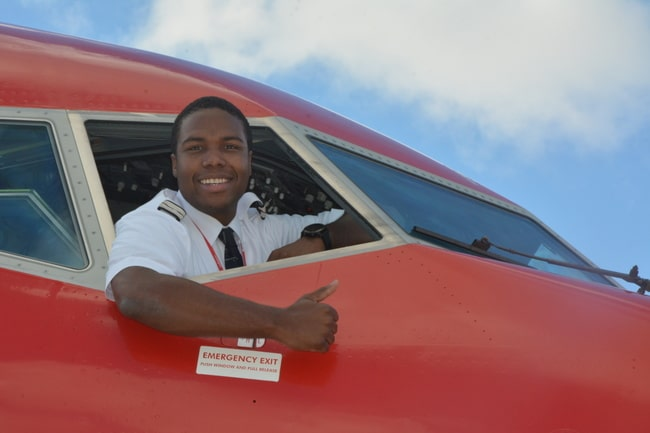 Pilote d'avion : voyage Martinique , Antilles françaises