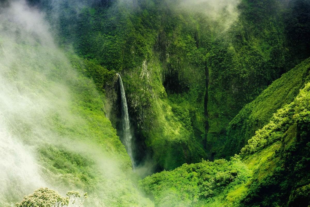 Cirque Cilaos Réunion : paysage Océan Indien