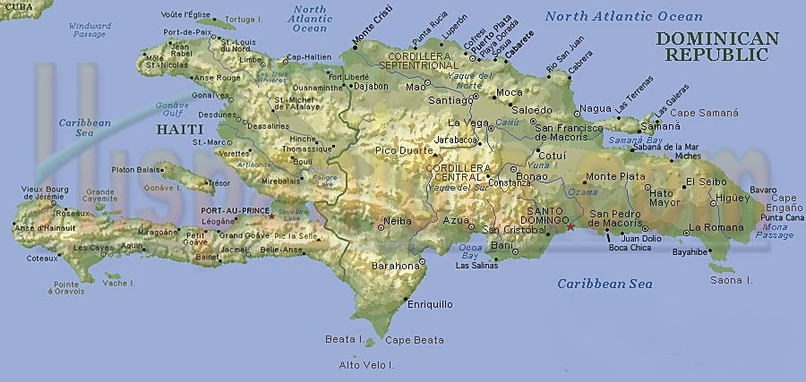 carte d'hispaniola
