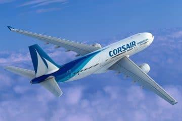 Corsair international : promo pour billet d'avion