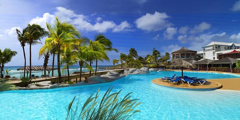 Séjour Guadeloupe Hôtel demi pension à Saint François