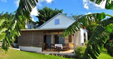 Location bungalows Bleu des îles en Guadelouope