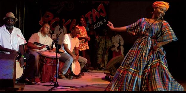 Fêtes patronales: Festival de Gwo Ka à Sainte Anne en Guadeloupe
