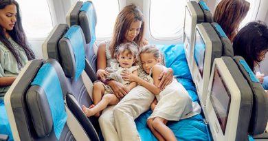 Classe loisir , classe économique Air Austral