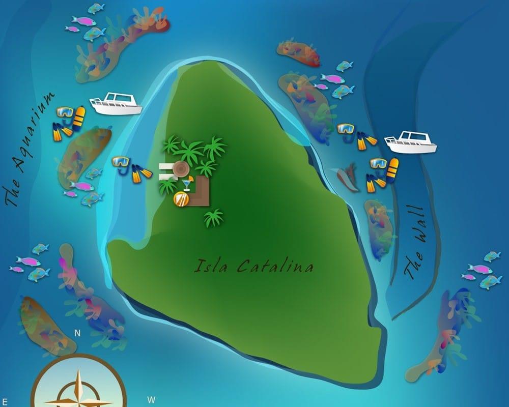 Visiter île Catalina en République Dominicaine. Ce qu'il faut voire et faire.