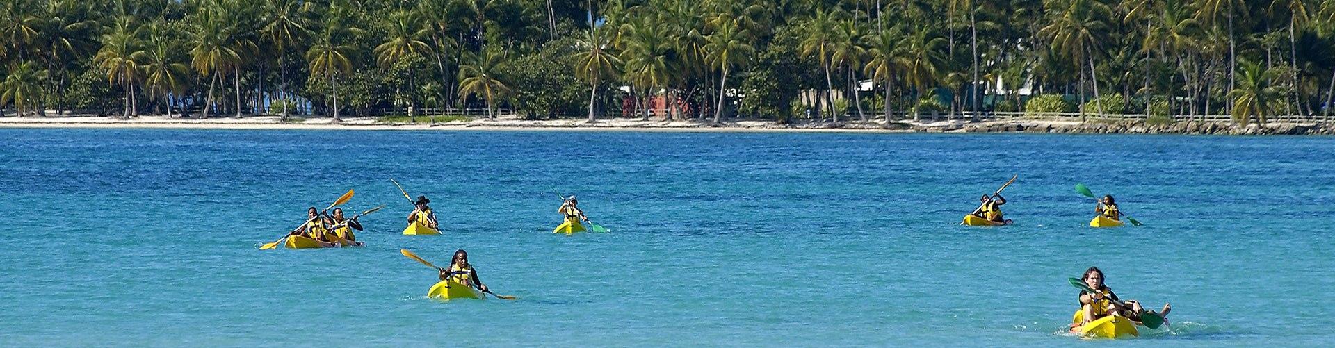 Excursion Kayak en Guadeloupe, Antilles françaises