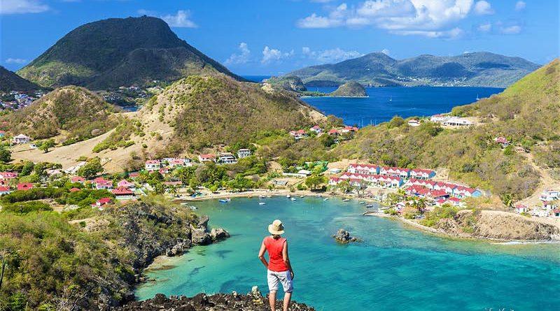 Les Saintes archipel Guadeloupe à visiter, Antilles françaises dans les Caraïbes