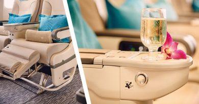 Air austral, club Austral : classe affaire