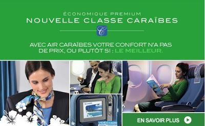 Classe Caraibes Air Caraibes, Classe premium