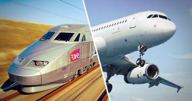 TGV AIR combiné train, navette, avion avec SNCF pour vol départ aéroport Paris