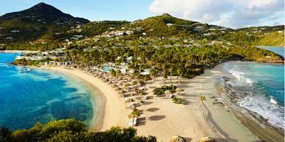 Saint Barth: complxe hotelier Guanahani