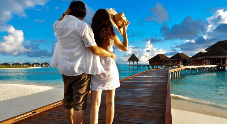 couple en Polynésie francaise