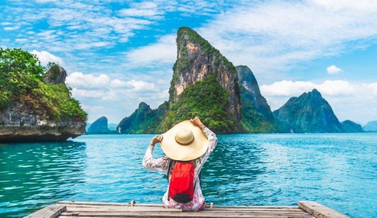 Paysage îlot Thailande