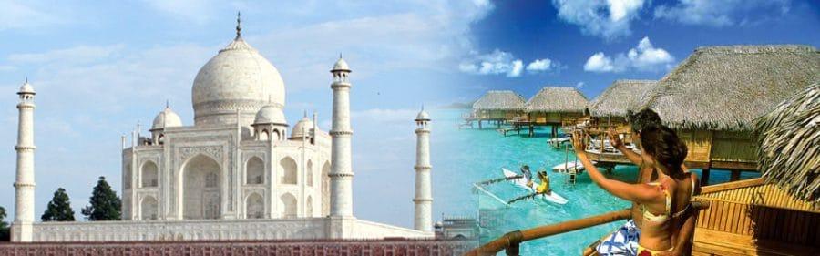 Circuit personnalisé en Inde et Polynésie : voyage  sur mesure