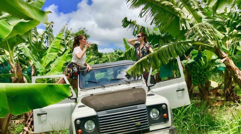 Excursion Guadeloupe en 4X4: safari en plantation de banane