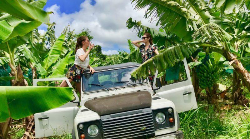 Excursion Guadeloupe en 4X4: safari en plantation de banane