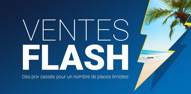 Voyage pas cher : vente flash pour séjours tout compris