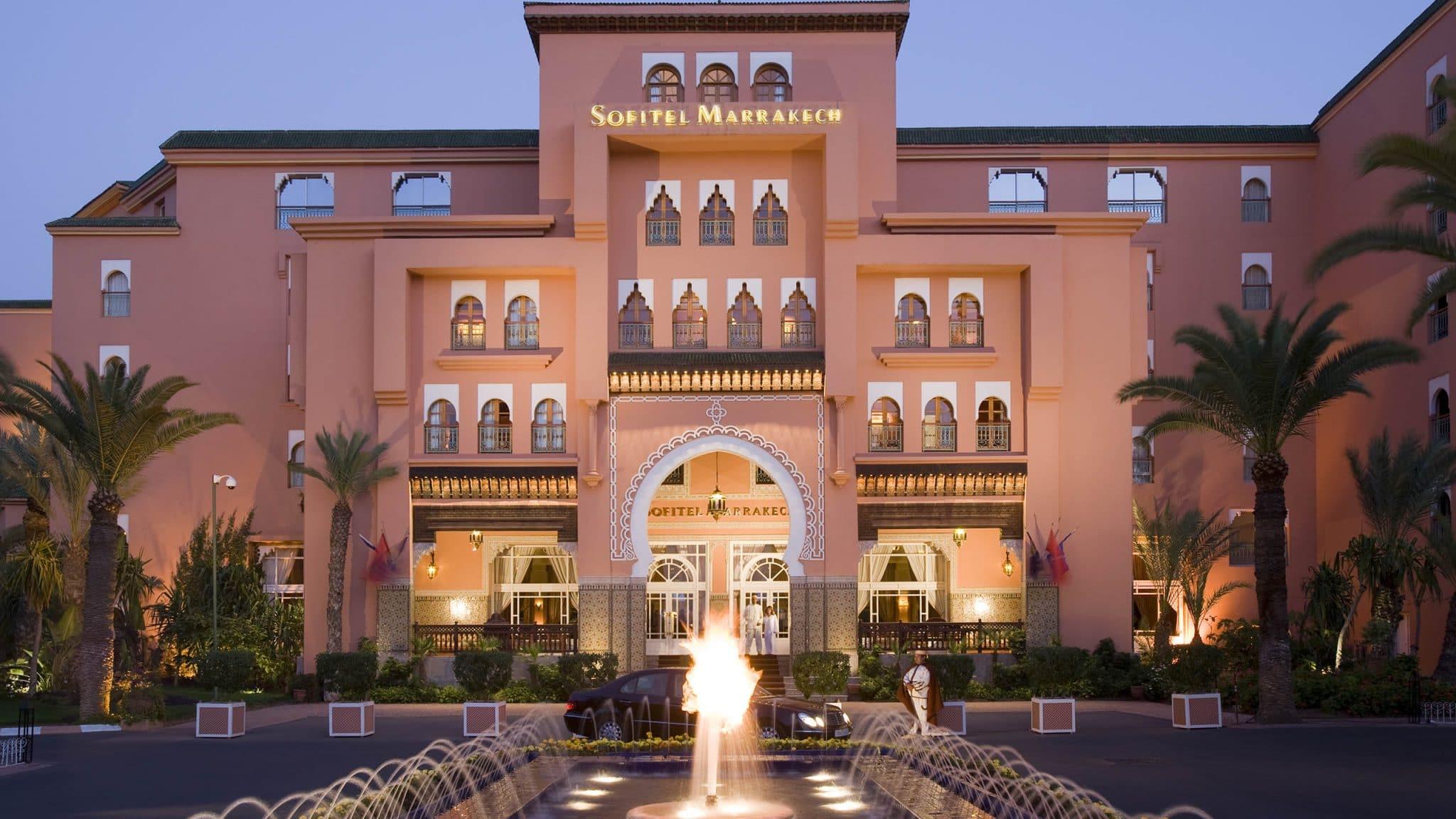 Hôtel Sofitel Marrakech Imperial spa : séjour Maroc