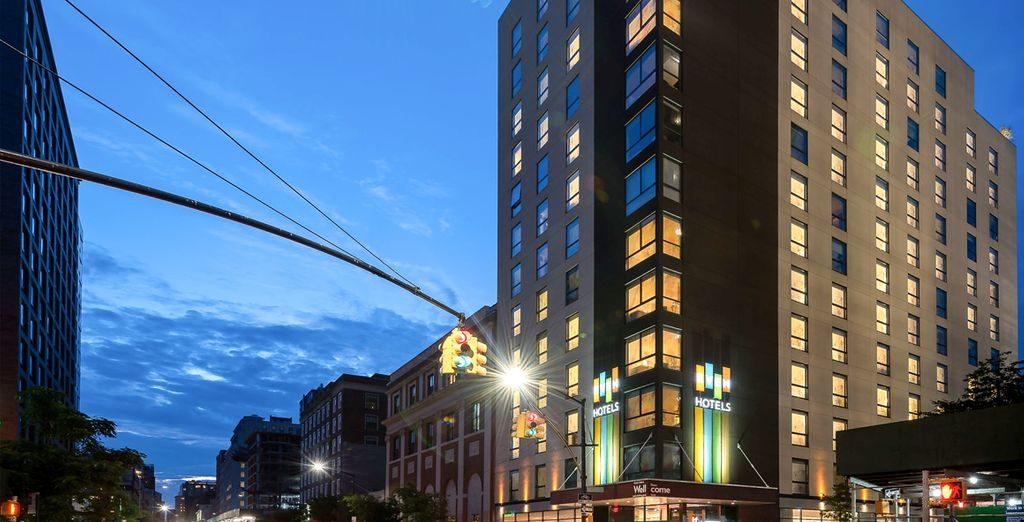 Even Hotel Brooklyn 4 étoiles : séjour New York