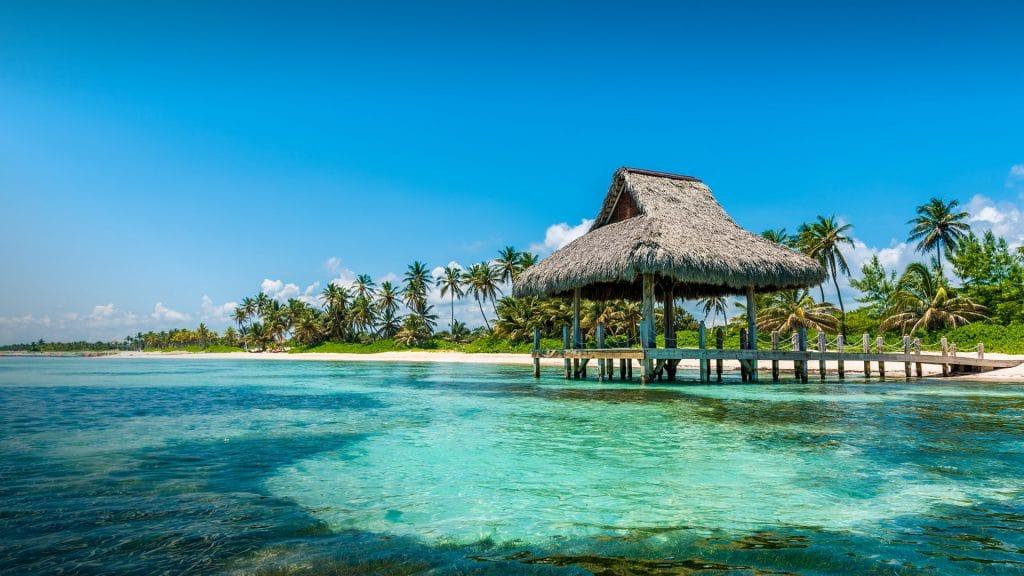Playa blanca : plage de Punta Cana