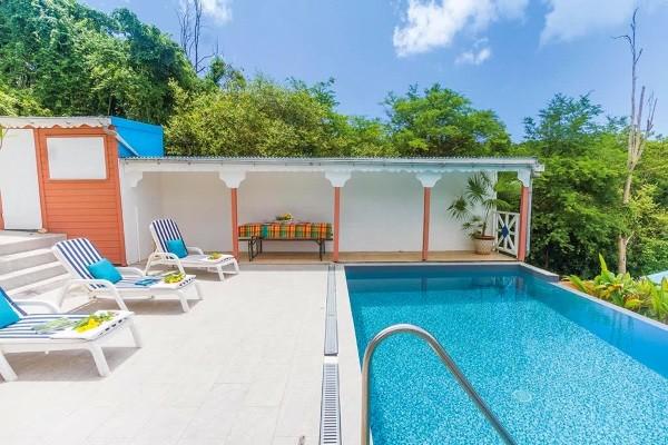 Piscine hôtel Alamanda : voyage Guadeloupe 10 jours Gosier