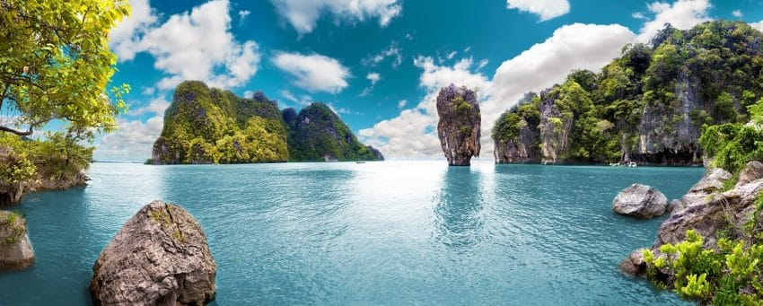 Paysage de Phuket en Thaïlande