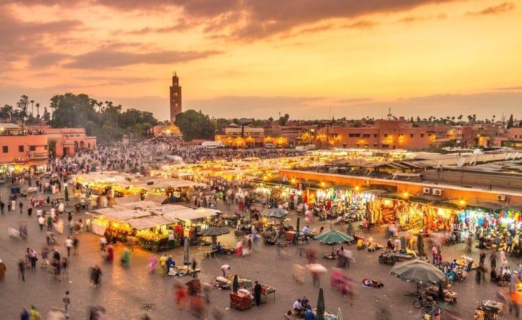 Visiter Marrakech et son souk , lieux incontournable à voir au Maroc