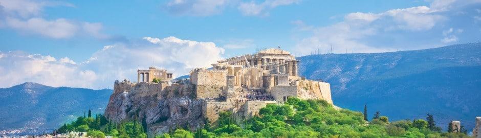 Lieu à aller visiter en Grèce: Sanctuaire de l'Acropole . Vue d'ensemble du monument.