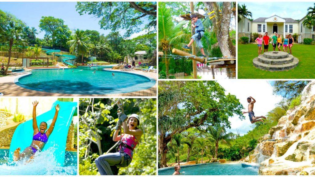 Parc d'attraction Good Hope Family à Montego Bay en Jamaïque . Activité à réaliser en famille en Jamaïque , lors de sa croisière all inclusive au Caraïbes.