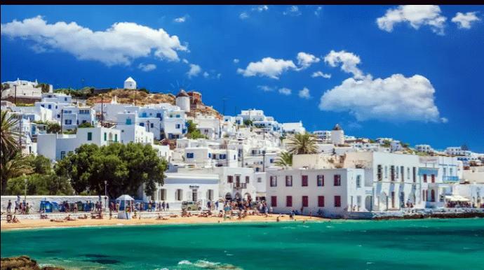 île Grecque de Mykonos : l'une des plus belles îles à visiter en méditerranée.