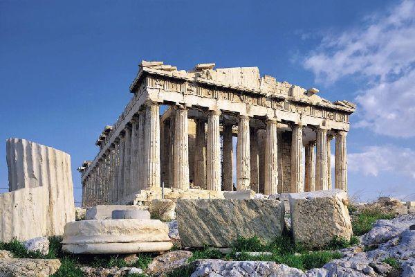 Ou aller en Grèce, ce qu'il faut visiter ; : Acropole à Athène . Site antique grec à visiter , lieu historique.