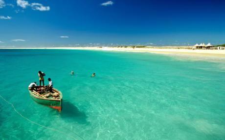 Plage de l'île de Sal au Cap Vert