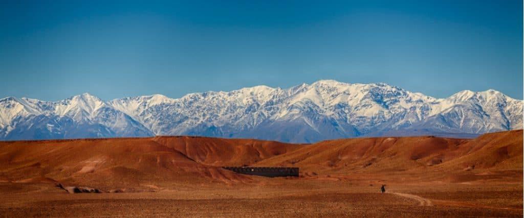 Quand partir visiter les chaines de montagne de l'Atlas au Maroc ?