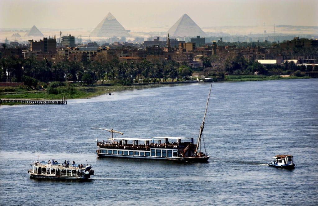 Exursion, circuit sur le fleuve du Nil en Egypte