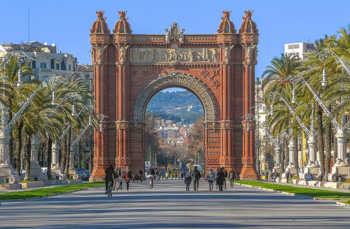 Porte d'entrée de la ville