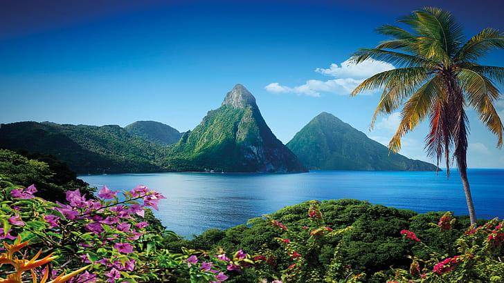 Ce qu'il faut visiter à Sainte Lucie, lieux à découvrir aux Caraïbes