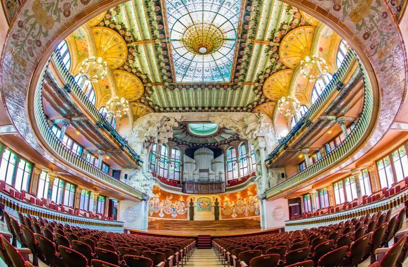 Visiter le palais de la musique catalane
